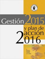 Portada Gestión 2015 y plan de acción 2016